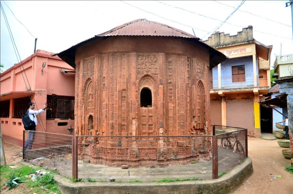 Octagonal Temple at Bazarpara, Ilambazar